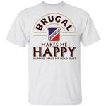 Brugal Makes Me Happy T-shirt Rum Tee