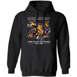 Kobe Bryant Number 24 Hoodie Thank You For The Memories Shirt For Fan