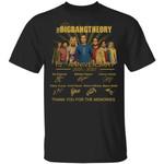 The Big Bang Theory T-shirt 15th Anniversary 2005 - 2020 Tee