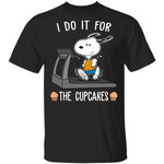 I Do It For The Cupcakes Snoopy T-shirt