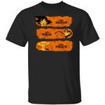 The Saiyan The Ninja The Pirate T Shirt Goku Naruto Luffy Anime Tee