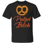 Pretzel Bitch T-shirt Fast Food Addict Tee