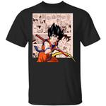 Dragon Ball Goku Shirt Anime Character Mix Manga Style Tee