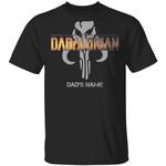 The Dadalorian Mandalorian Dad Custom Name T-shirt Symbol Tee