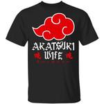Akatsuki Wife Shirt Naruto Red Cloud Family Tee