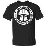 I Am Dadalorian T-shirt Children Are Part Of My Religion Mandalorian Dad Tee