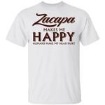 Zacapa Makes Me Happy T-shirt Rum Tee