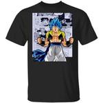 Dragon Ball Gogeta Shirt Anime Character Mix Manga Style Tee