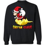 Son Goku Saiyan Claus Sweatshirt Dragon Ball Christmas Shirt