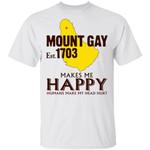 Mount Gay Makes Me Happy T-shirt Rum Tee