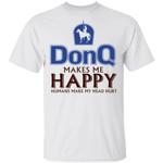 Don Q Makes Me Happy T-shirt Rum Tee