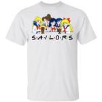 Sailors FRIENDS T Shirt Sailor Moon Anime Tee