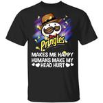 Pringles Makes Me Happy Humans Make My Head Hurt T-shirt