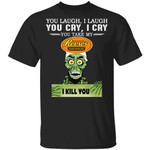 Reese's Peanut Butter Cup Achmed T-shirt You Take My Snack I Kill You Tee