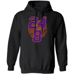 Kobe Bryant Number 8 And 24 Hoodie Basketball Legend For Fans
