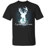 Expecto Patronum Ovarian Cancer Awareness T-shirt Harry Potter Patronus Tee