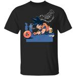 Goku Playing Billiards T Shirt Dragon Ball Z Anime Tee