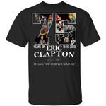 Eric Clapton T-shirt 75 Years Anniversary 1945 - 2020 Tee