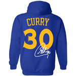 Stephen Curry Hoodie Yellow Number 30 Signature Shirt