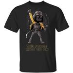The Force Must Go On Freddie Mercury Darth Vader T-shirt
