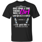 Once Upon A Time There Was A Girl Loved New Amsterdam T-shirt Vodka Tee