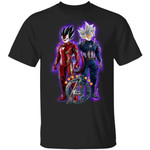 Dragon Ball Goku Avengers T-shirt Anime Tee