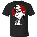 Snoopy Eating KFC T-shirt Fast Food Tee