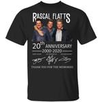Rascal Flatts Tee Shirt 20th Anniversary 2000 - 2020