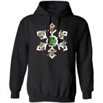Toy Story Snowflake Hoodie Woody And Buzz Lovely Xmas Gift