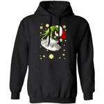 Xmas Hoodie Grinch Stealing Chef Job Tool Christmas Hoodie