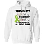 This Is My Fight Shirt Lymphoma Awareness Hoodie For Cancer Warrior