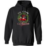Xmas Hoodie I'll Be Home For Christmas Vermont Hoodie Xmas Shirt