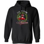 Xmas Hoodie I'll Be Home For Christmas New Jersey Hoodie Xmas Shirt