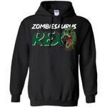 Zombiesaurus Rex Mixed Halloween Costume Hoodie
