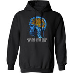 X-Ray Of My Head All Of Scooby-Doo Hoodie When Doctor Takes