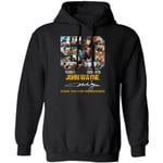 John Wayne 50th Anniversary Hoodie Shirt Gift Idea For Fan