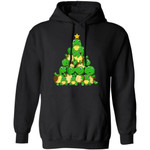 Turtle Christmas Tree Hoodie Funny Xmas Lovely Gift