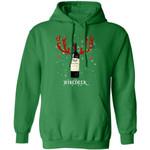 Winedeer Reindeer Chateau Ste. Michelle Wine Hoodie Christmas Wine Hoodie Cool Xmas Gift
