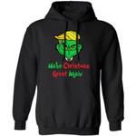 Xmas Hoodie Make Christmas Great Again Grinch Trump Hoodie Funny Xmas Gift