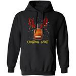 Woodford Reserve Reindeer Whisky Christmas Spirit Hoodie Funny Xmas Gift
