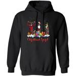 Zaya Reindeer Christmas Spirit Rum Hoodie Cool Xmas Gift