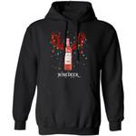 Winedeer Reindeer Beringer Wine Hoodie Christmas Wine Hoodie Cool Xmas Gift