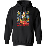 We Are Never Too Old For Christmas Pluto Hoodie Disney Gift