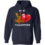 Valentine's Hoodie Be My Valentine Scooby Doo Hoodie Lovely Gift