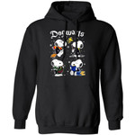 Snoopy Dogwarts Hoodie Funny Mixed Harry Potter Shirt Fan Gift