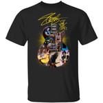 Slash Shirt Slash Signature On The Guitar T-shirt Cool Gift