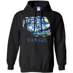 Van Go Hippie  Starry Night Van Gogh Hoodie