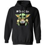 Baby Yoda Loves Peet's Coffee Hoodie