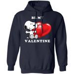 Valentine's Hoodie Be My Valentine Snoopy Hoodie Lovely Gift