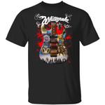 Whitesnake Shirt Whitesnake Signatures On The Guitar T-shirt Cool Gift